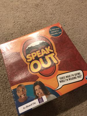 New Speak out game for Sale in Chesapeake, VA