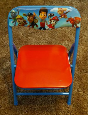 KIDS PAW PATROL METAL FOLD UP CHAIR for Sale in Aurora, CO