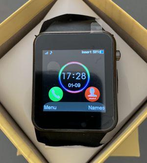 GT08 Smart Watch (Black) for Sale in Norco, CA