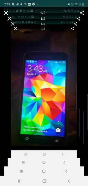 Samsung Galaxy s5 unlocked for Sale in Downey, CA