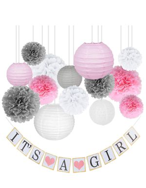 Brand new Baby Shower Decorations for Girl (pick up only) for Sale in Alexandria, VA