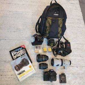 Nikon D800 DSLR Camera Body, Lenses, and Accessories for Sale in Huntington Beach, CA