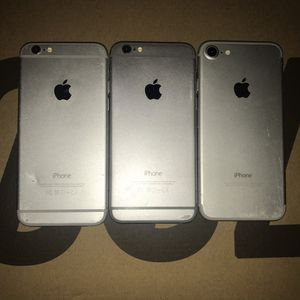 3 for $80 1=iPhone 7 2=iPhone 6 for Sale in Queens, NY