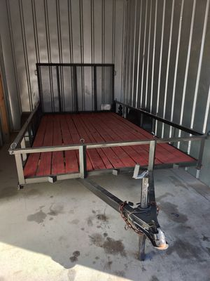 12x6.5 trailer with ramp gate for Sale in Riverside, CA