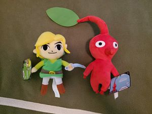 Pikmin and Link Plush Toys for Sale in Spring, TX