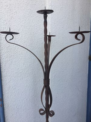 Wrought Iron Candle Holder for Sale in Glendale, CA