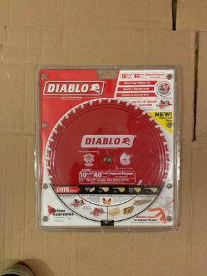 Saw blade Diablo for Sale in San Marcos, CA