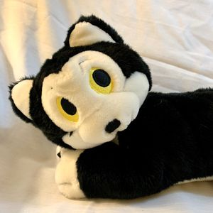 "Disney Store Black Figaro Cat Pinocchio 14"" Lying Plush Stuffed Animal HTF for Sale in Federal Way, WA"
