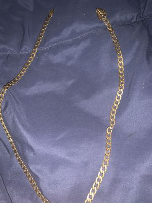Real 14k solid gold chain for Sale in Sacramento, CA