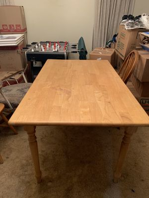 Wooden Table for Sale in Phoenix, AZ