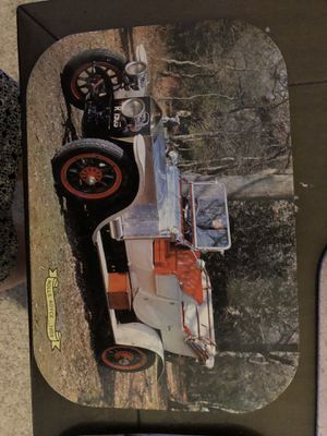 Three vintage car wall art for Sale in New Market, MD