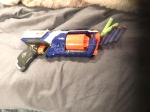 NERF GUN WITH BULLETS BRAND NEW NEVER USED for Sale in Livingston, NJ