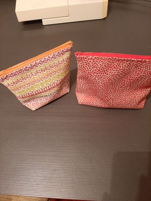 Make up bags and rollup brush cases for Sale in Portland, OR
