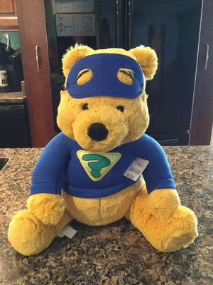 Brand new Winnie the Pooh Teddy Bear. Has tags. Comes from a non smoking home for Sale in Alpharetta, GA