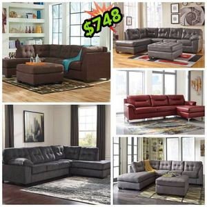 $29 a week for any of these Ashley sofa and loveseat no credit needed just checking account have today for Sale in Woonsocket, RI