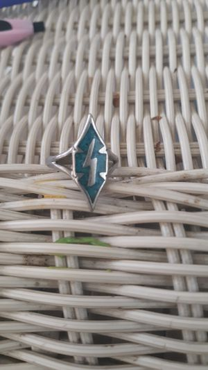 Size 6 Turquoise sterling silver ring for Sale in Columbus, OH