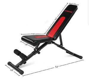 Adjustable weight bench foldable for Sale in Anaheim, CA