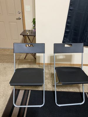 Ikea foldable chairs for Sale in Bloomington, IL