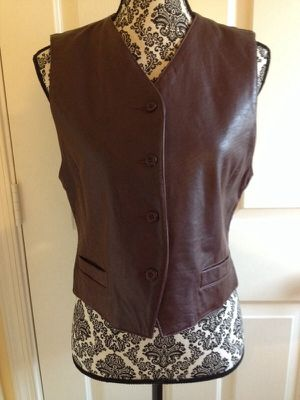 Misses 100% Leather Vest, small for Sale in Fairfax, VA