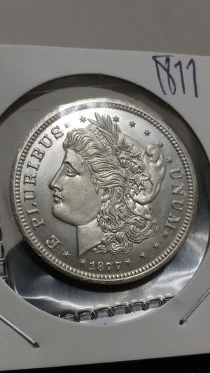 1877 )) U.S LIBERTY SILVER HALF DOLLAR/THIS IS: 1X1 NOVELTY COIN/30 MM.-12. GR. for Sale in Brooklyn, NY
