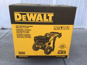 Dewalt 3600 PSI pressure washer for Sale in Pasadena, CA