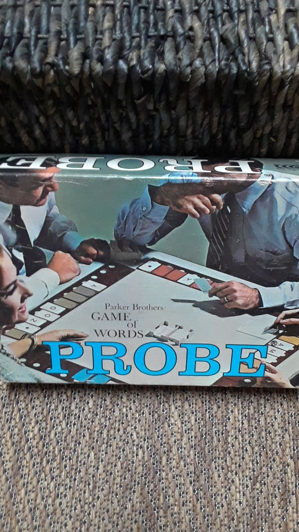 Probe game of words