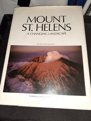 Hardback Mount St.Helens Book for Sale in St. Louis, MO