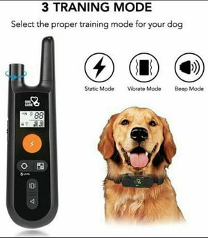 Dog Training Collar - Rechargeable Dog Shock Collar w/3 Training Modes for Sale in Fontana, CA