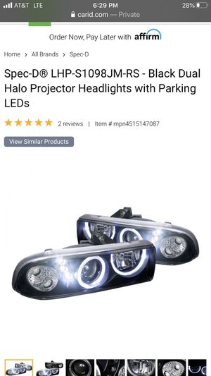 S10 LED Halo Headlights for Sale in Lodi, CA
