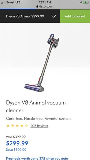 Dyson v8 animal cord free for Sale in Richardson, TX