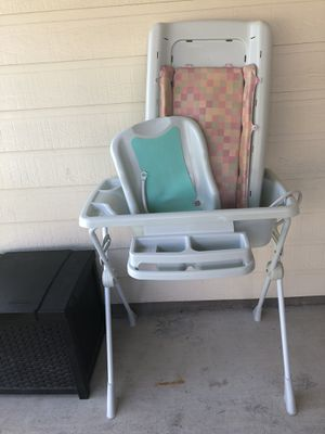 Burigotto Millenia Bathtub AND Changing Table Combo WITH Storage Compartment!! $140 Value for $40!! for Sale in Buda, TX