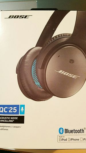 Qc25 bose headphones wireless for Sale in Hyattsville, MD