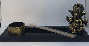 🙋♀️ Gold Ganesh Tea Light and Incense Holder for Sale in Pembroke Pines, FL