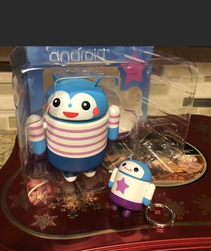 Google play android keychain and figure for Sale in Dallas, TX