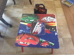 Kids table w chair for Sale in Clovis, CA