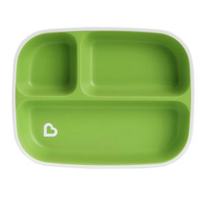 Munchkin Splash Divided Plate - Green for Sale in El Monte, CA