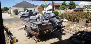 Tracker guide 16ft aluminum boat for Sale in La Mesa, CA