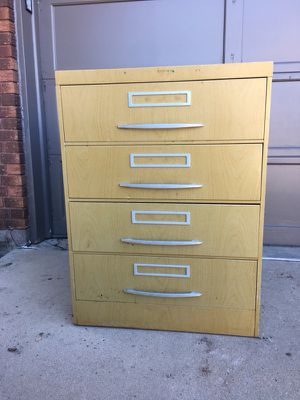Large heavy cabinet with 3 compartments in each drawer. Great for crafting supplies or organizing. for Sale in Parker, CO