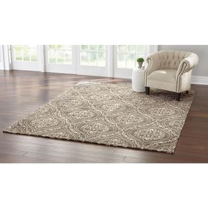Home Decorators Collection Arden Mocha 8 ft. x 10 ft. Jacquard Area Rug for Sale in Columbus, OH