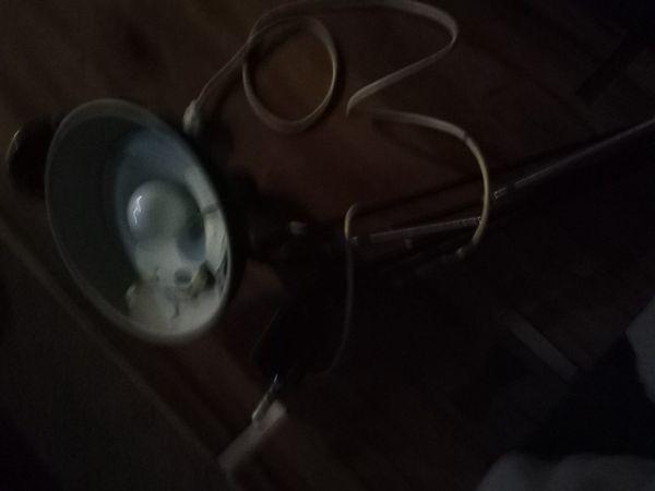 Vintage work table lamp