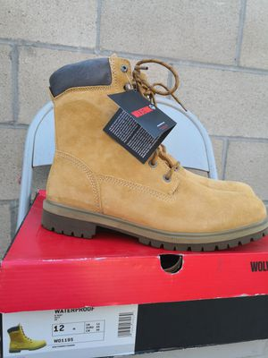 Brand new wolverine soft toe work boots size 12 for Sale in Riverside, CA