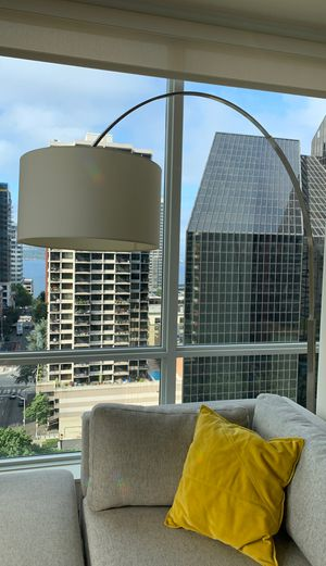 Modern arched floor lamp for Sale in Seattle, WA