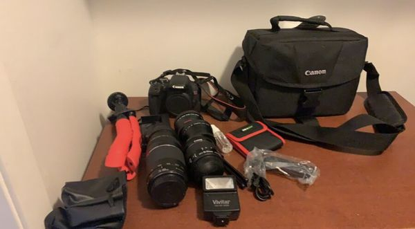 CANON EOS REBEL T7i DSLR CAMERA *everything included*