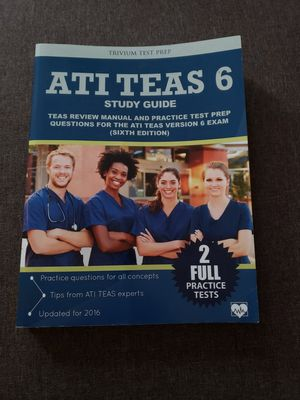 Ati teas 6 -study guide for Sale in Worcester, MA
