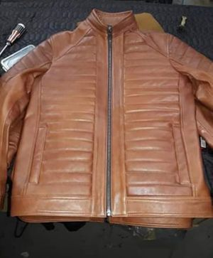 Real hand made leather jacket for Sale in Fairfax, VA