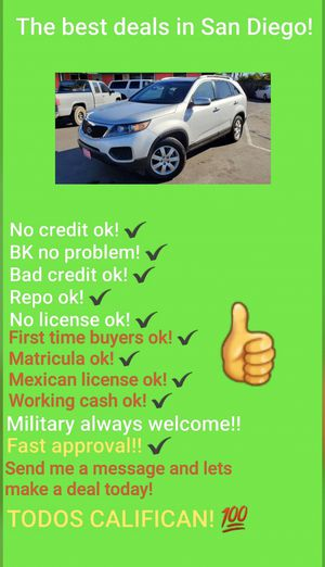 2013 KIA SORENTO AWD LX! GREAT DEAL! CALL! for Sale in San Diego , CA