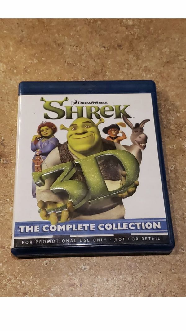 Shrek 3D: The Complete Collection - All 4 Movies (3D Blu-ray, 4-Disc Set)