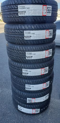 215 55 17 NEW TIRES CAMRY ALTIMA ACCORD for Sale in Rancho Cucamonga,  CA
