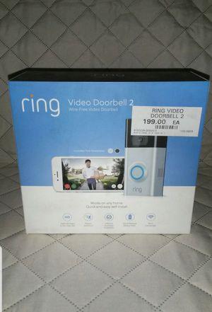 Ring 2 Video Doorbell for Sale in San Jose, CA