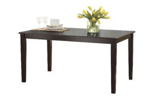 Better Homes and Gardens Bankston Dining Table, Expresso finish A13-9186 for Sale in St. Louis, MO